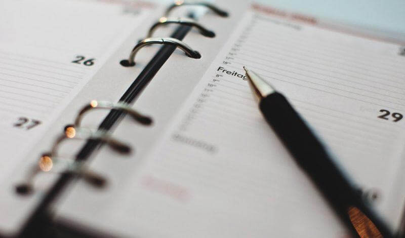 Activiteiten - Leven in je agenda